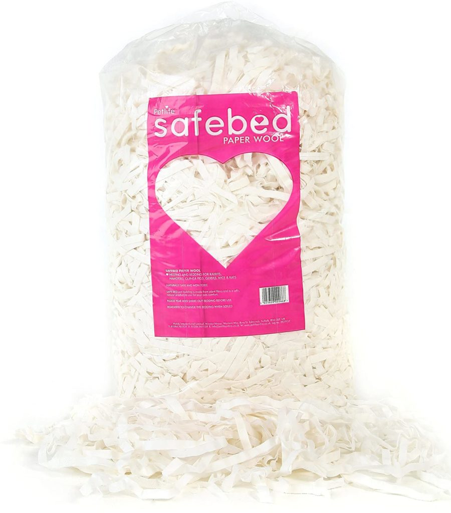 Best-Rabbit-Bedding-Safebed-Paper-Wool-Petlife-Small-Animal-Bedding-for-Rabbit