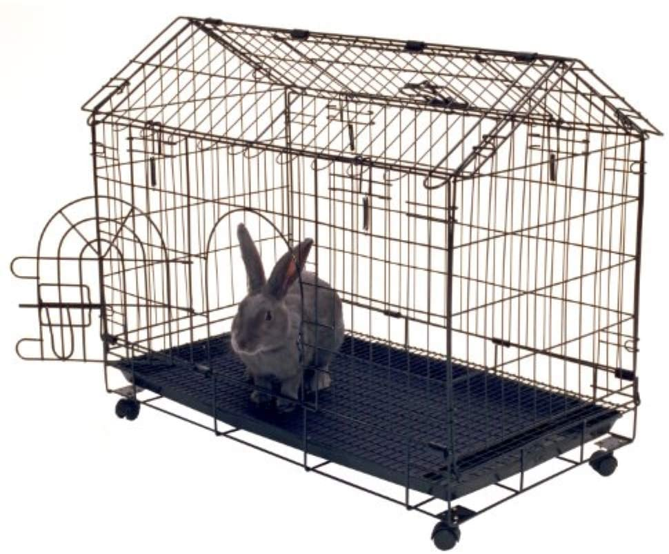 Best-Rabbit-Cages-Kennel-Aire-A-Frame-Bunny-House