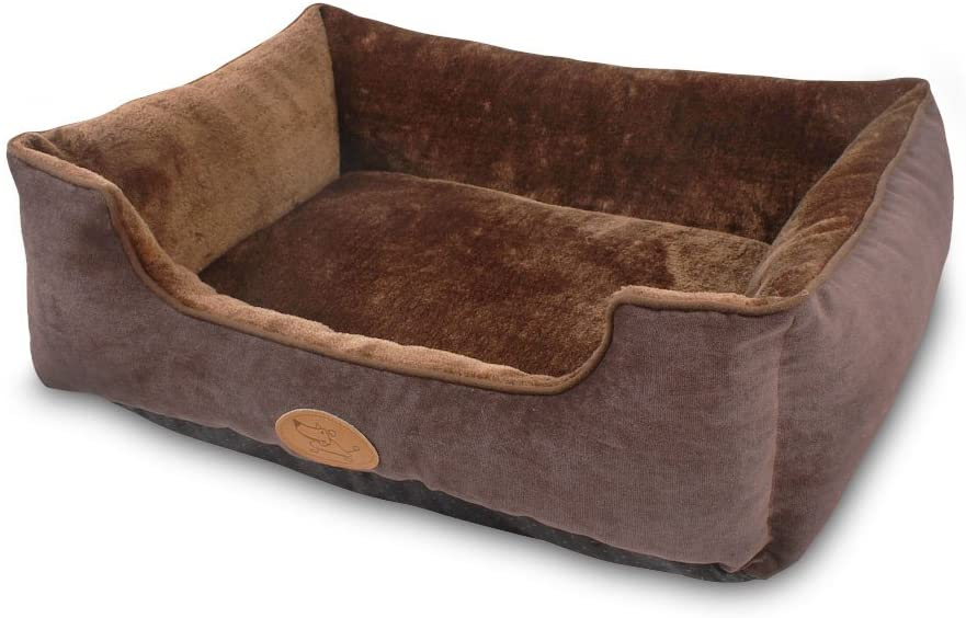 best dog beds for small dogs - Best Pet Supplies Plush Pet Bed