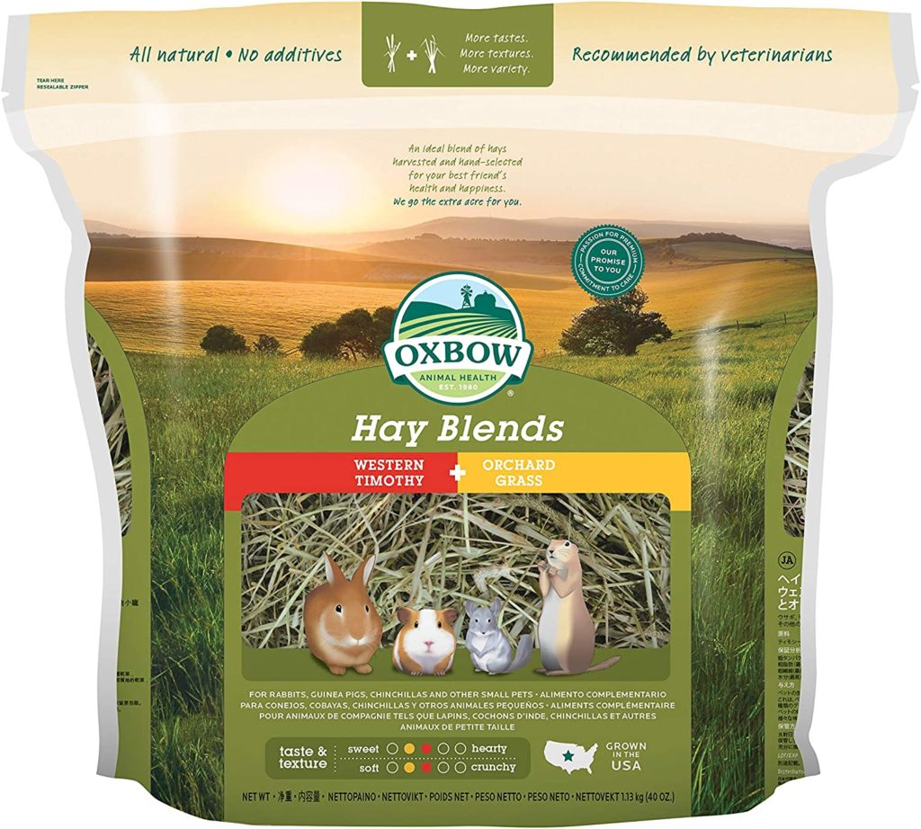 best rabbit hay - Hay Blends Timothy Orchard