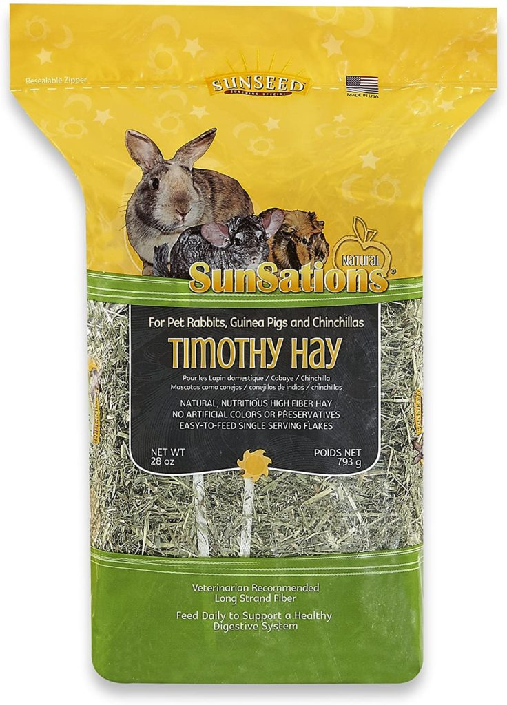 best rabbit hay - Sunsations Natural Timothy Hay
