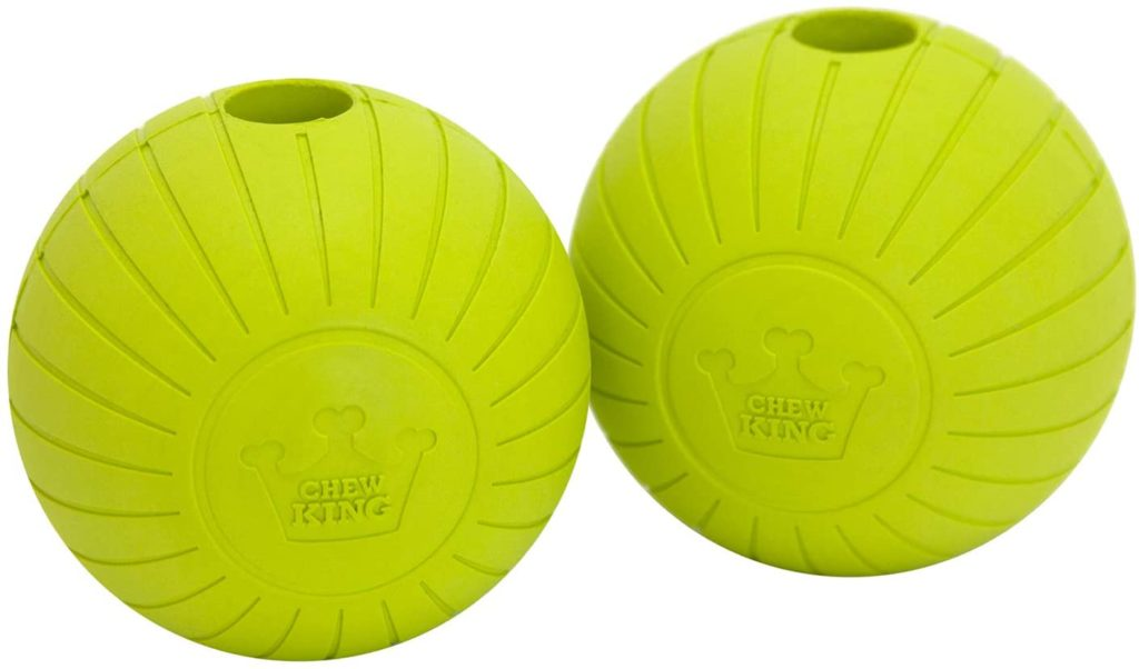 best indestructible dog toys - Chew King Fetch Balls