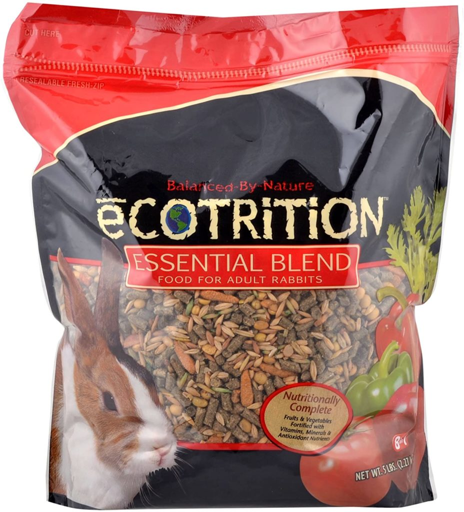 best rabbbit food - Ecotrition Essential Blend Food For Adult Rabbits