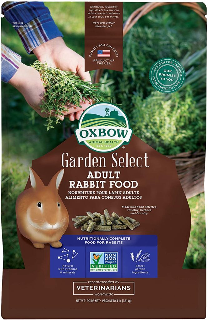 best rabbit food - Oxbow Garden Select Fortified Food for Rabbits