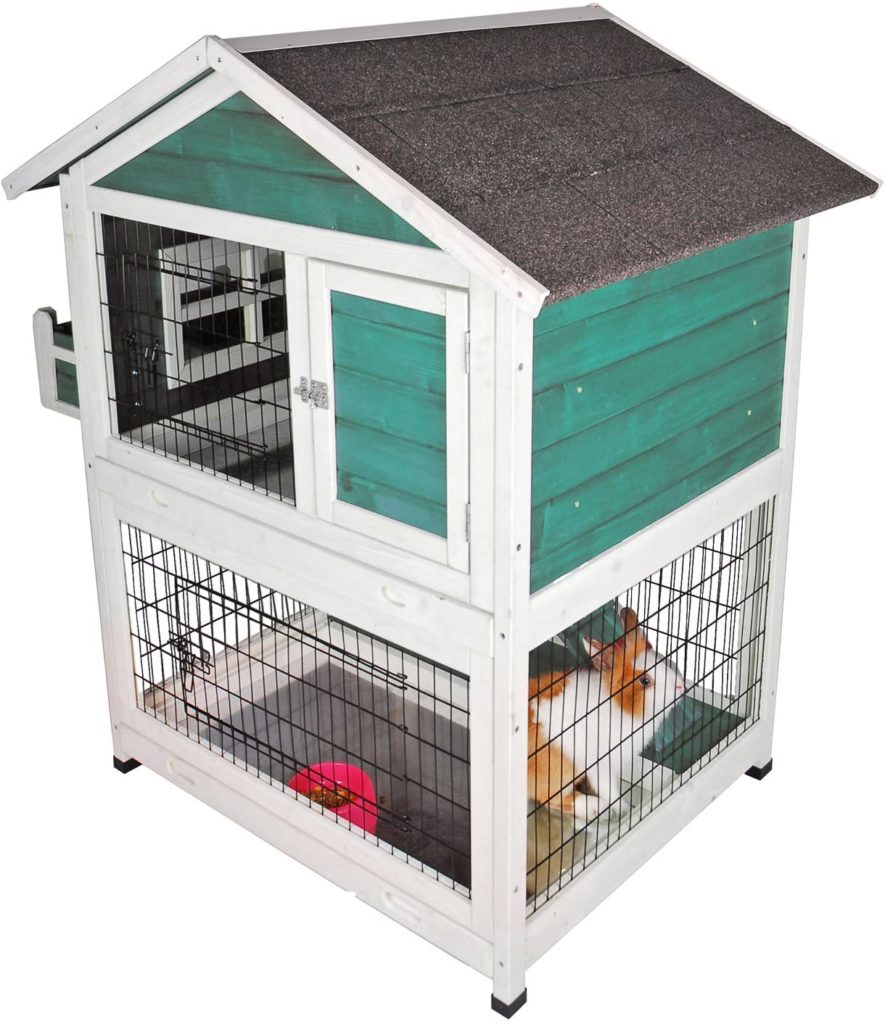 best rabbit hutches - Petsfit Bunny Cages Outdoor Rabbit Hutch