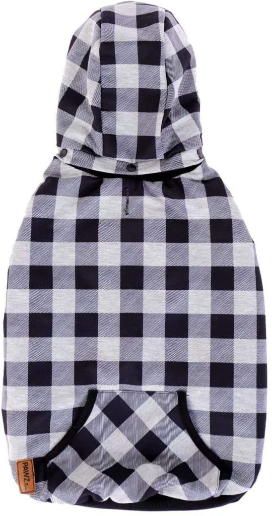 best winter jackets for dogs - PAWZ Road Dog Plaid Shirt Coat